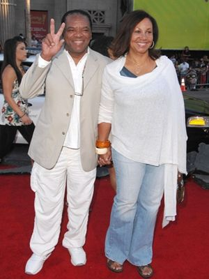 John Witherspoon Married, Wife, Angela Robinson