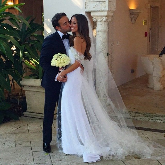 Arielle Charnas married to husband, Brandon