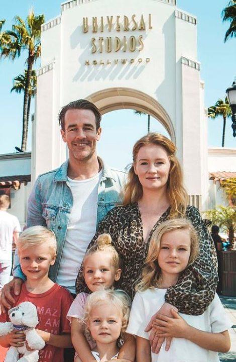 James Van Family, Siblings and Parents