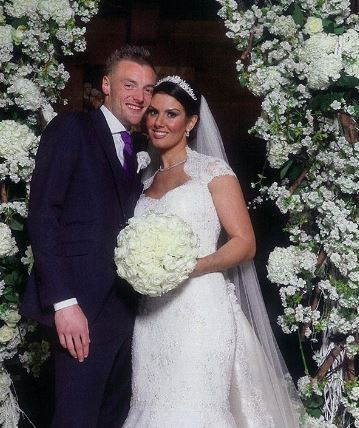 Rebekah Vardy married to husband, Jamie