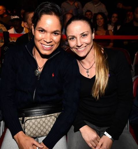 Amanda Nunes Girlfriend, Dating, Nina Ansaroff