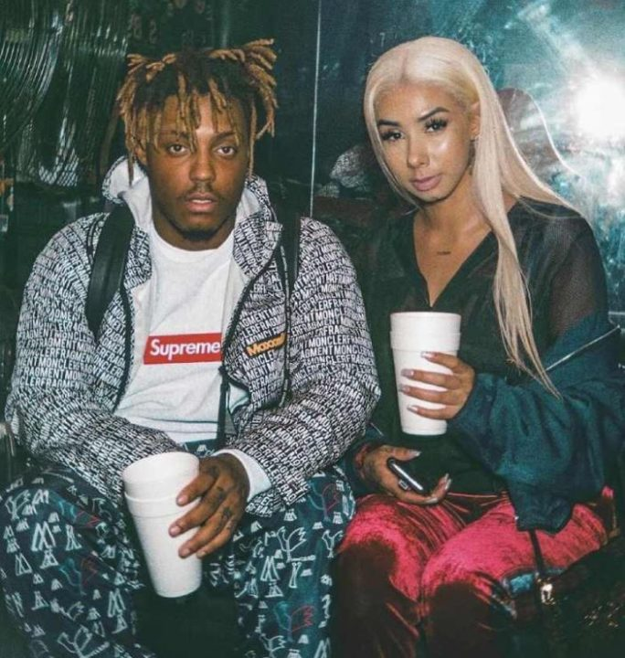 Juice WRLD with his girlfriend, Ally Lotti