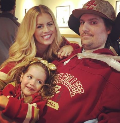 Pete Frates Wife, Daughter, Parents