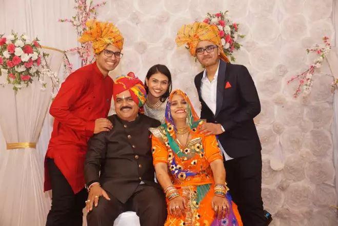 Suman Family, Parents, Siblings