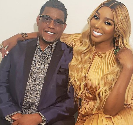 Nene with her husband, Gregg Leakes