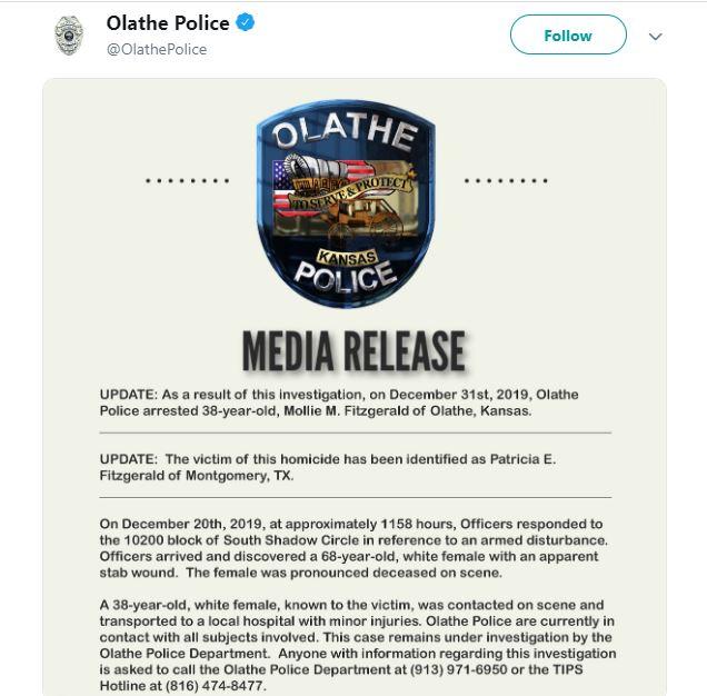 Olathe Police Tweets