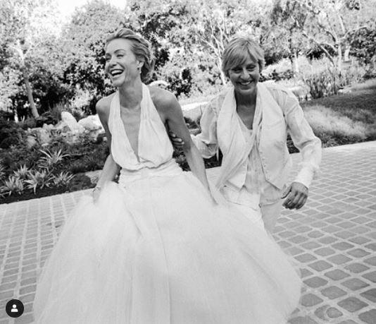Portia de Rossi Married Wife Children