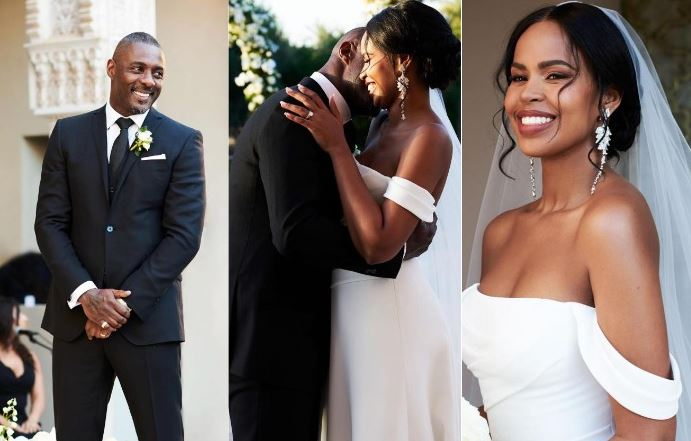 Sabrina Dhowre Married, Husband, Wedding, Idris Elba