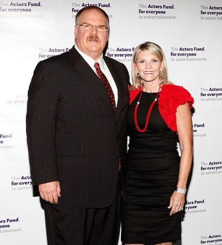 Andy Reid Dating, Married, Wife