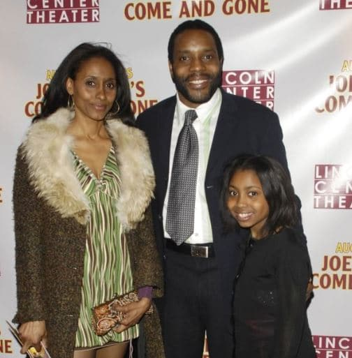 Chad Coleman Wife, Daughter, Sally Stewart