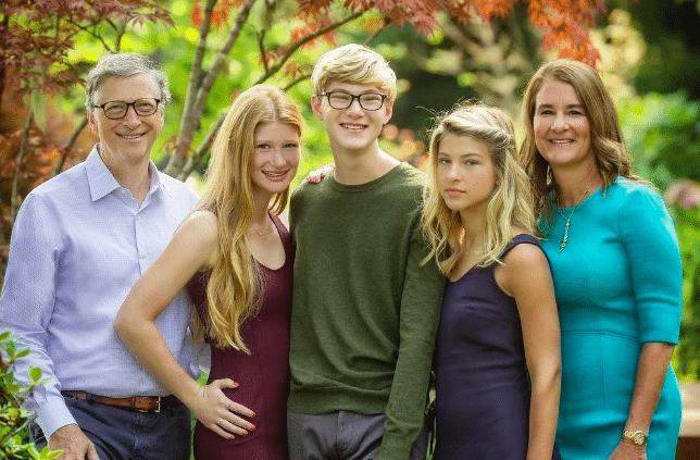 Jennifer Katharine Gates Family, Parents, Sibling