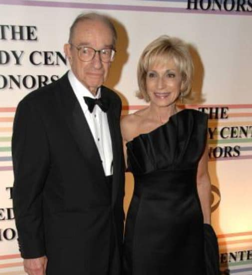 Andrea Mitchell Married, Husband, Alan Greenspan