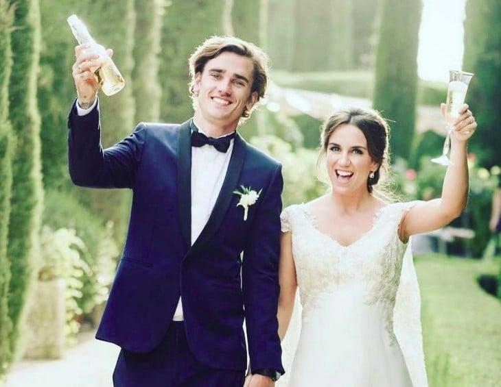 Antoine Griezman Relationship, Married, Wife