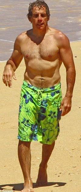 Ben Stiller Body Measurement, Height, Weight