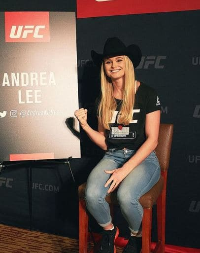 Andrea Lee MMA, Boxer, Net Worth