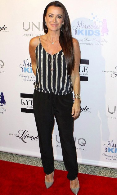 Kyle Richards Body Size, Height, Weight