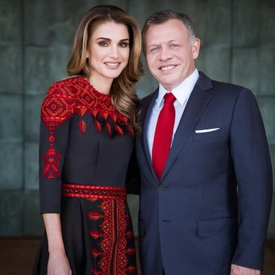 Queen Rania Married, Husband, Children