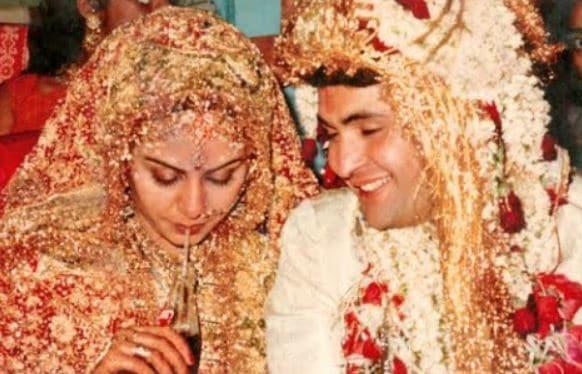Rishi Kapoor wedding photo