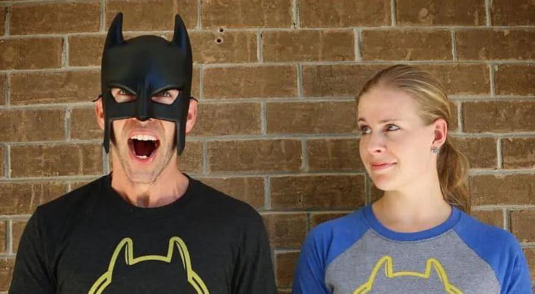 BatDad and Jen Wilson