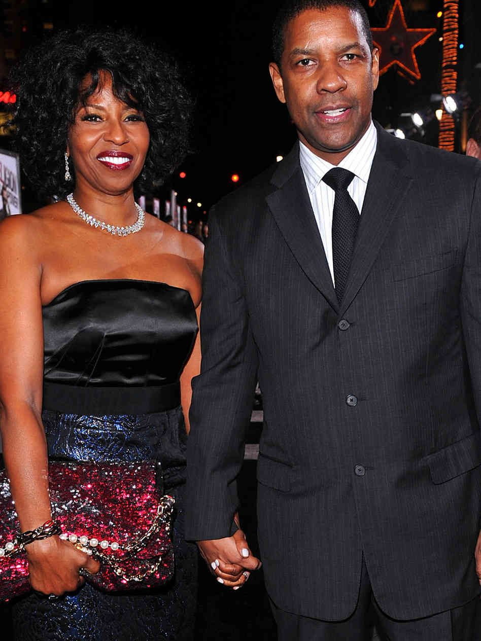 Denzel Washington Married, Wife, Pauletta Pearson