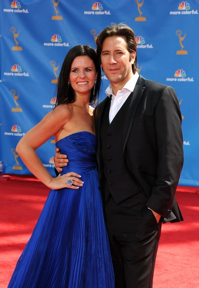 Henry Ian Cusick Married, Wife, Annie Cusick Wood