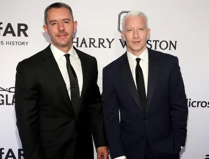 Anderson Cooper Boyfriend, Co Parent