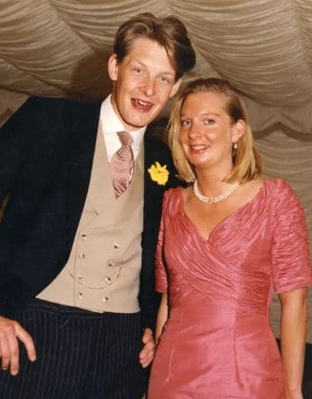 Vicky Ward Married, Husband