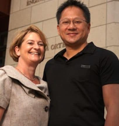 Jensen Huang Married, Wife
