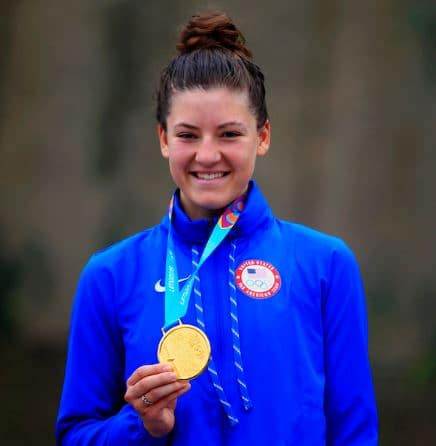 Chloe Dygert Medal, Net Worth, Cyclist