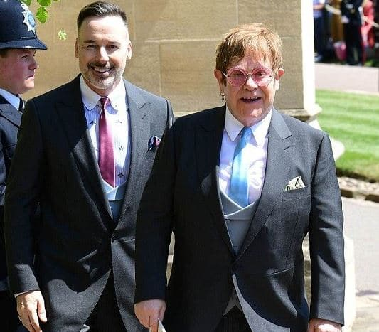 Elton John Husband, Married