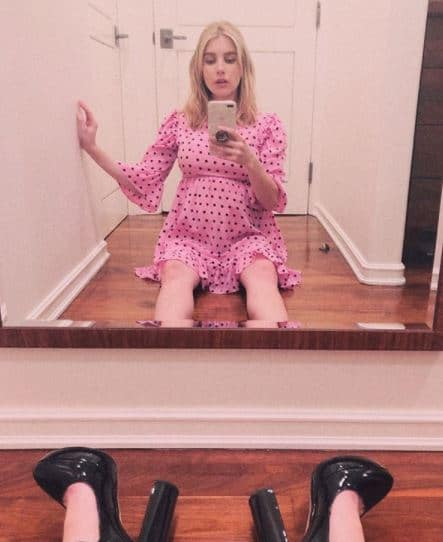 Emma Roberts Pregnant, Child, Boy