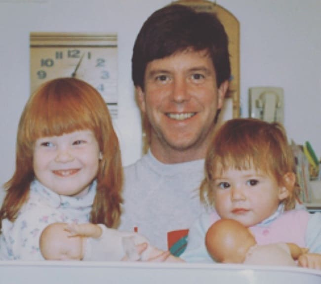 Tom Bergeron's daughter, Jessica and Samantha Bergeron.