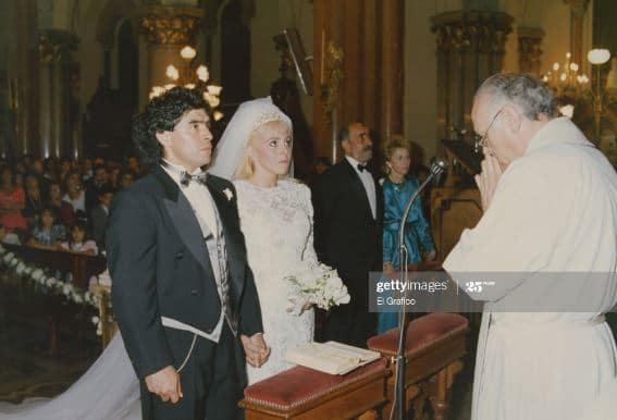 Diego Maradona Married, Partner, Wife, Children
