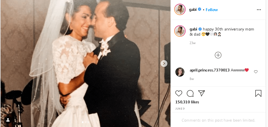 Gabi DeMartino Parents, Family