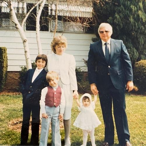 Cheryl Scott family