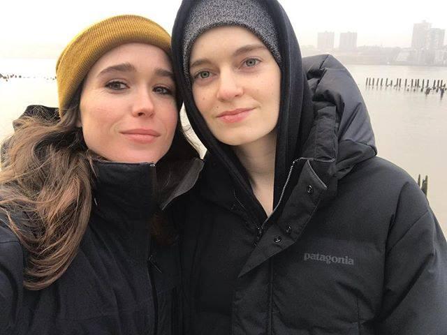 Elliot Page Partner