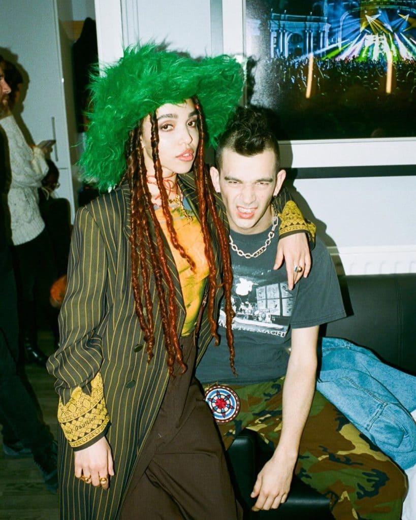 Matty Healy Girlfriend, 2020. Dating, FKA Twigs
