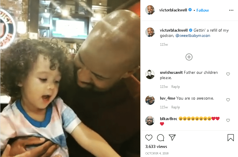 Victor Blackwell Married, Son
