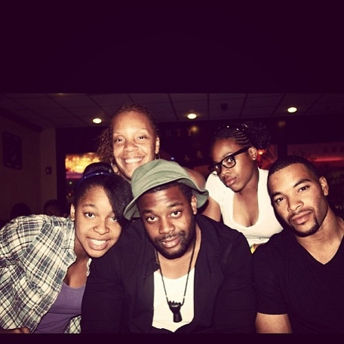 LaRoyce Hawkins family, parents, siblings