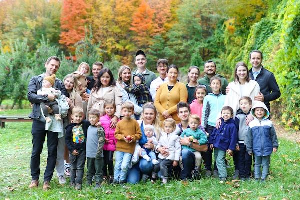 Milana Burykin family