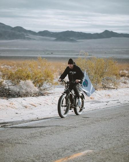 Tucker Doss biking