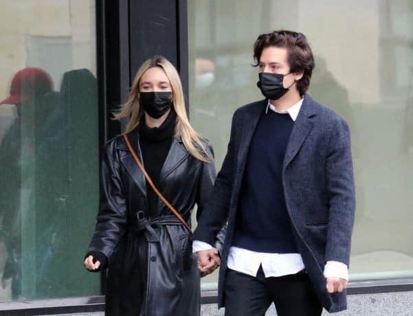 Ari Fournier Dating, Boyfriend, Partner, Cole Sprouse