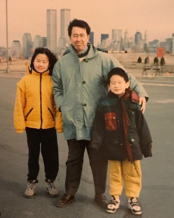 Bowen Yang family