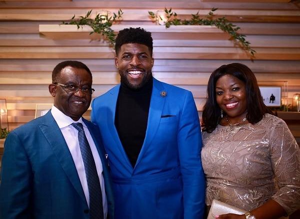 Emmanuel Acho parents