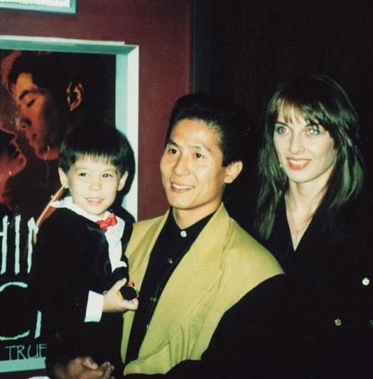 Lewis Tan parents