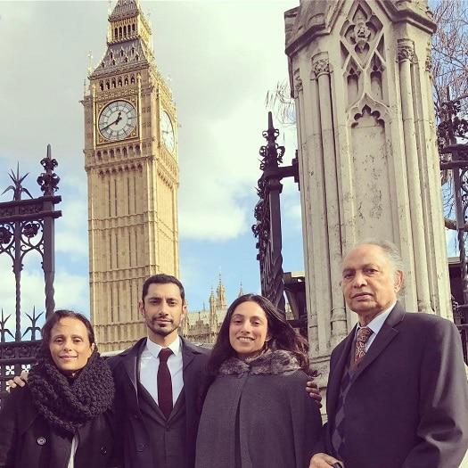 Riz Ahmed family, parents