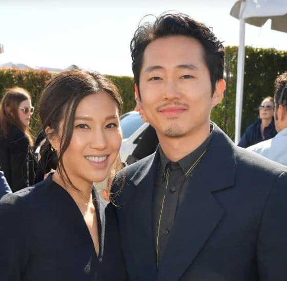 Steven Yeun Married, Wife, Children