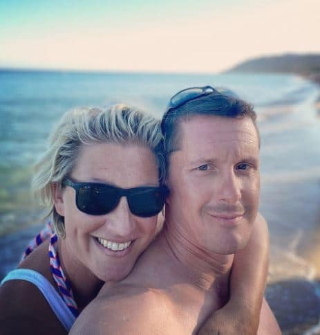 Becky Mantin Married, Husband, Baby