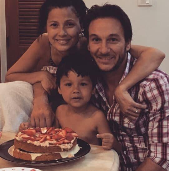 Natassia Malthe Married, Husband, Son
