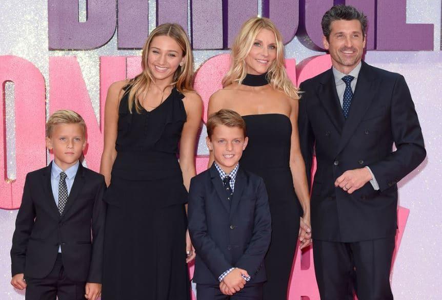 Patrick Dempsey Married, Wife, Children